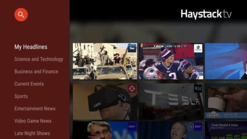 News on Fire TV Haystack App
