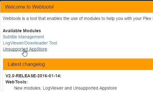 Add Filmon To Plex Webtools