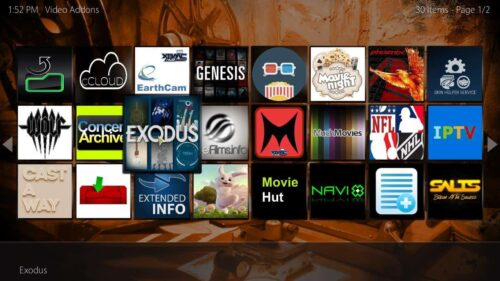 Cirrus Extended plugin for Kodi music wall