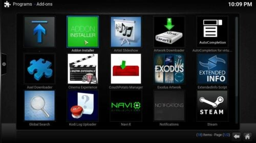 Install Movie Mix Addon fusion
