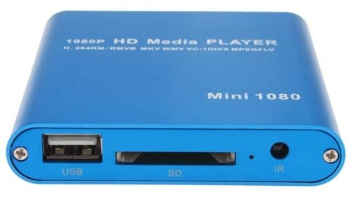 AGPtek Media Player Review ports