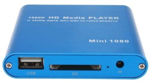 AGPtek Media Player Review ports