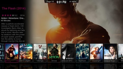 Kodi Phenomenal Interface poster