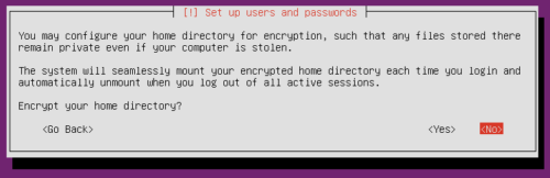 Install Ubuntu Server Xenial Xerus - Encryption
