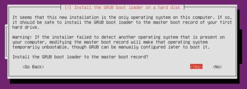 Ubuntu Home Server Setup - Grub-Notification