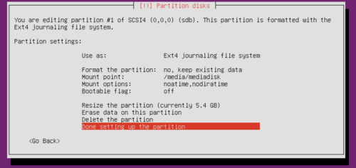 Ubuntu Partition Tutorial - Mount Existing Partitions