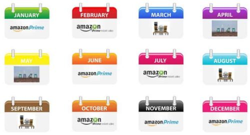 Amazon Prime Monthly Subscription Image