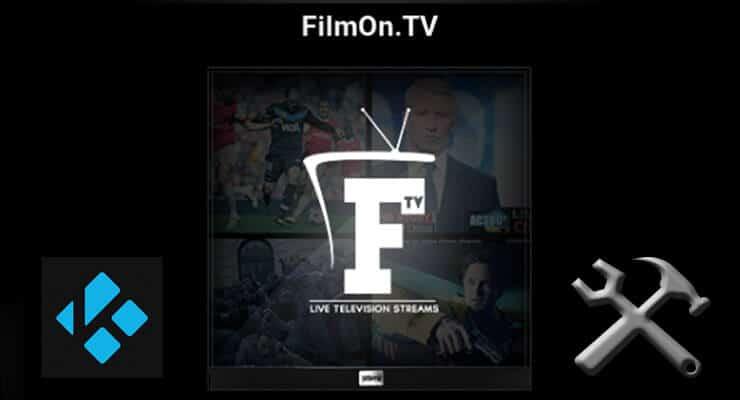 FilmOn TV Kodi Addon featured