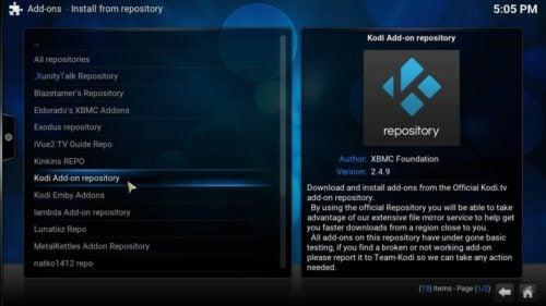 Kodi Tvshow Time Plugin