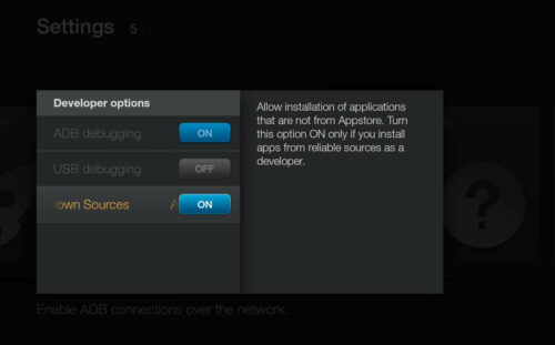 Amazon Fire TV Ready for Installing Unofficial Apps