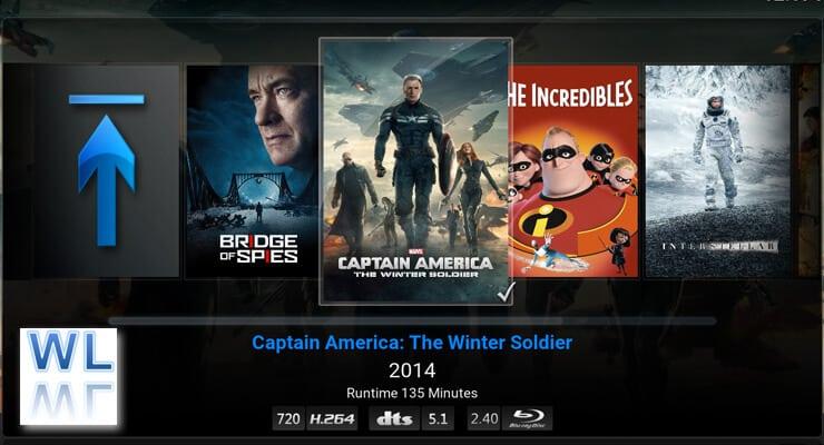 Kodi WatchedList Backup image