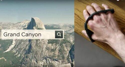 Tap wireless keyboard image