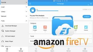 Install ES File Explorer on Amazon Fire TV