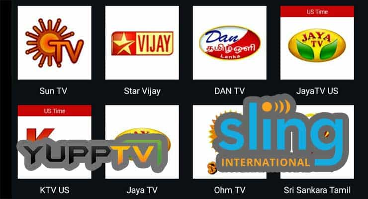 Watch Indian TV Channels Online: Sling TV vs YuppTV