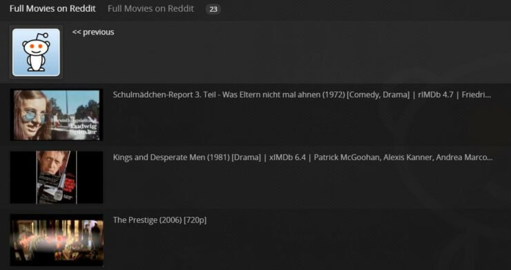 Plex Full Movies on Reddit content