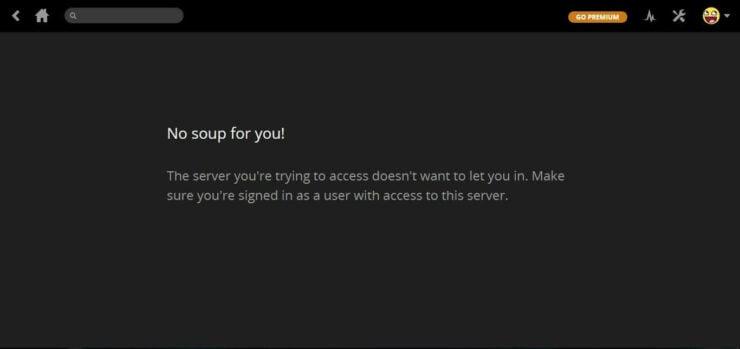 Plex and VPN no content
