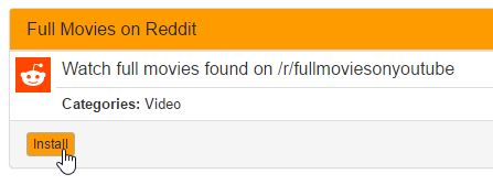 Guide: How to install Plex Full Movies on Reddit channel