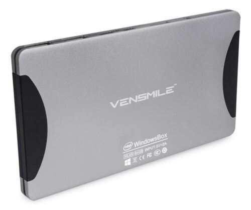Despite its thin and small dimensions, the Vensmile W10 is a powerful media device.