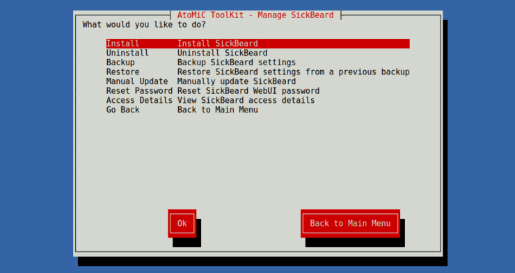 AtoMiC ToolKit - Install SickBeard on Ubuntu Server