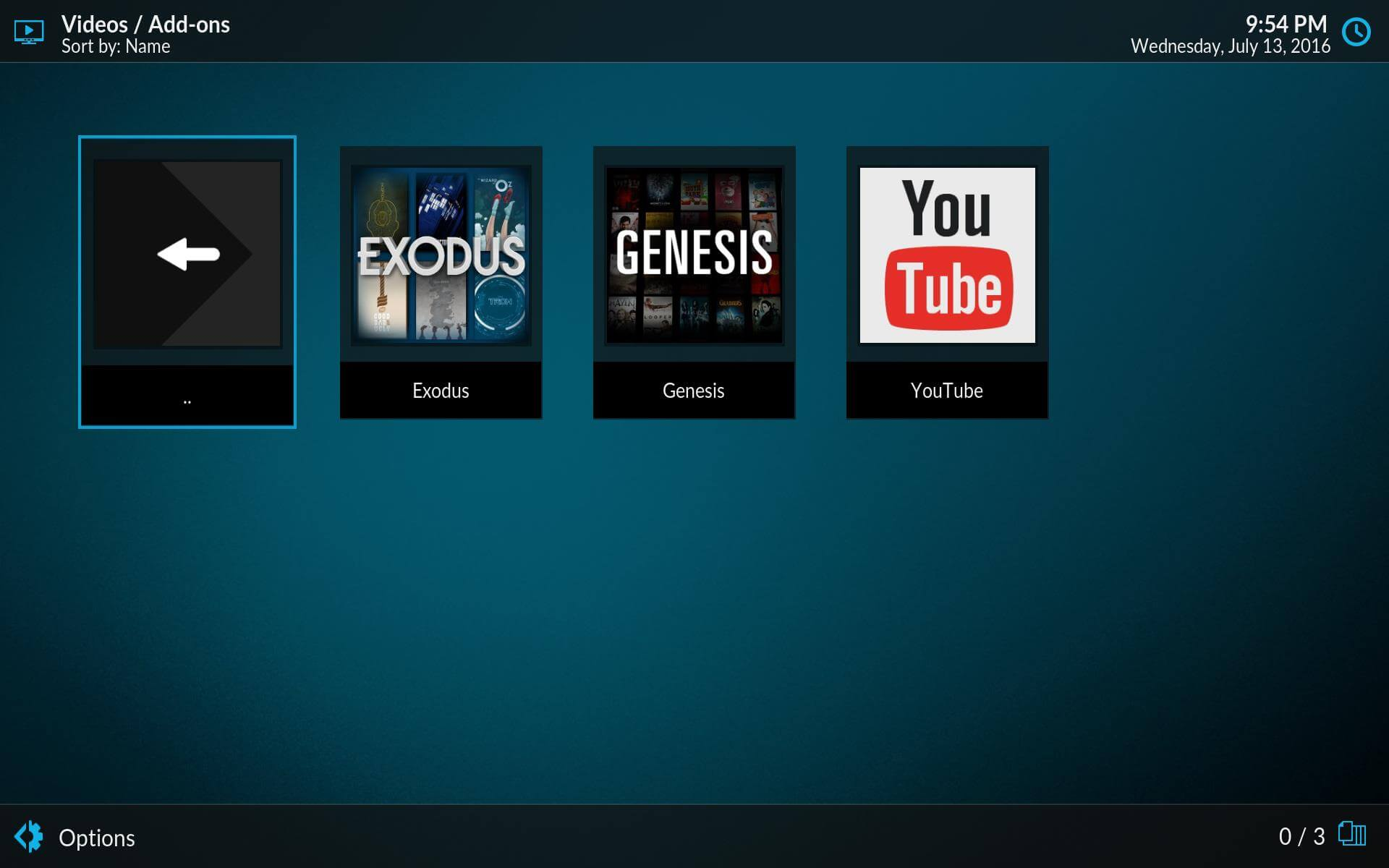 Estuary Plugin for Kodi addons