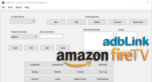 Install and configure adbLink for Amazon Fire TV and Stick