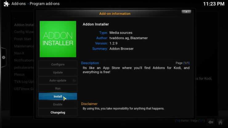 Fusion Repository add to Kodi