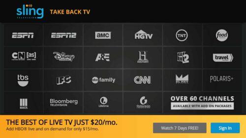 Sling TV vs YuppTV