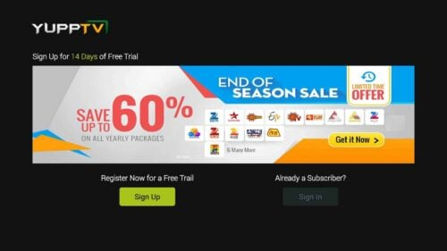 YuppTV Trial Period