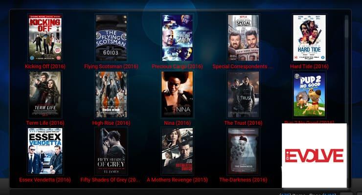 Kodi Evolve Addon featured