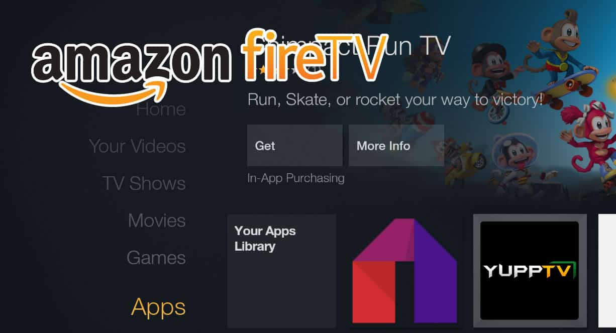 Install Mobdro on Fire TV