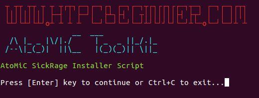 SickRage on Ubuntu Server install