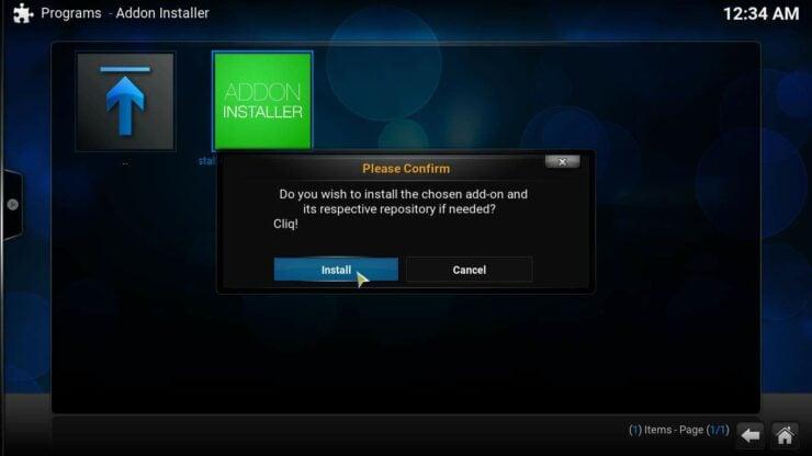 Cliq Addon for Kodi download