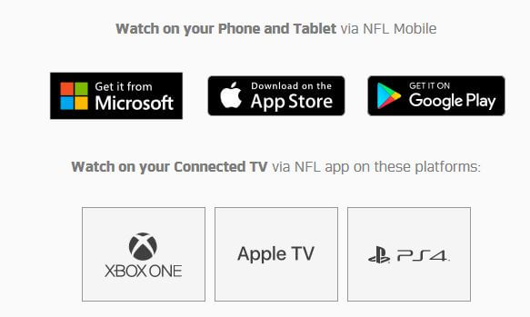 NFL Game Pass Streaming Options