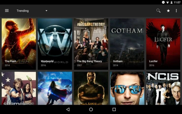 Terrarium TV Android media covers