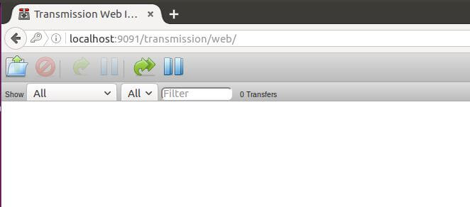 Transmission Web UI success