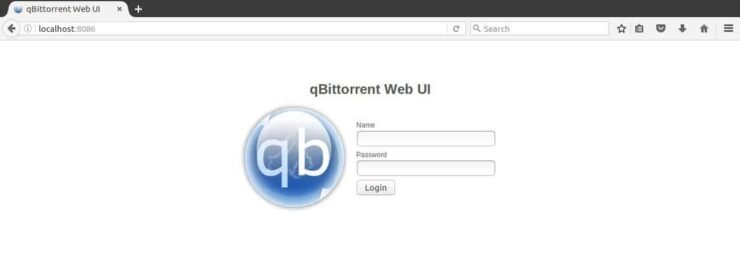 qBittorrent Web UI success