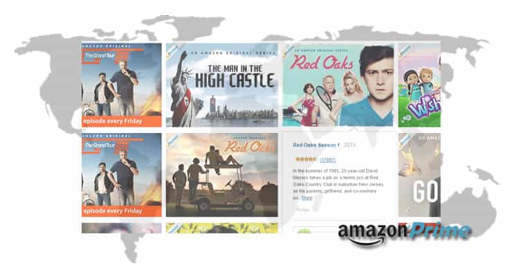 Amazon Prime Available Globally image