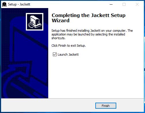 Jackett Windows setup