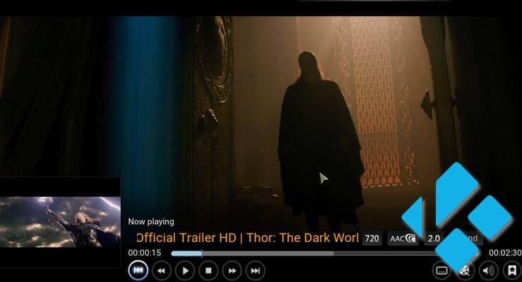 Kodi Movie Trailers image