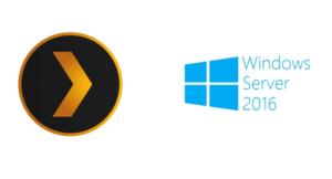 Install Plex on Windows Server 2016