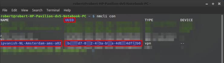 autoconnect openvpn linux mint uuid