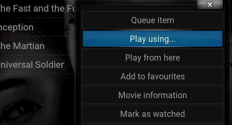 Guide: How to use External Players in Kodi media center?