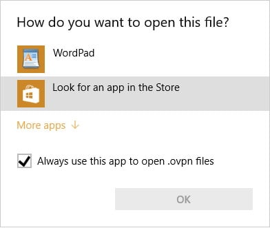 openvpn automatic login windows