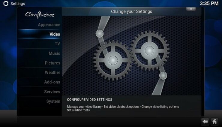 Kodi Full screen for 4:3 video