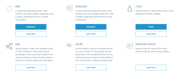 Docker on Linux, Windows, and Mac