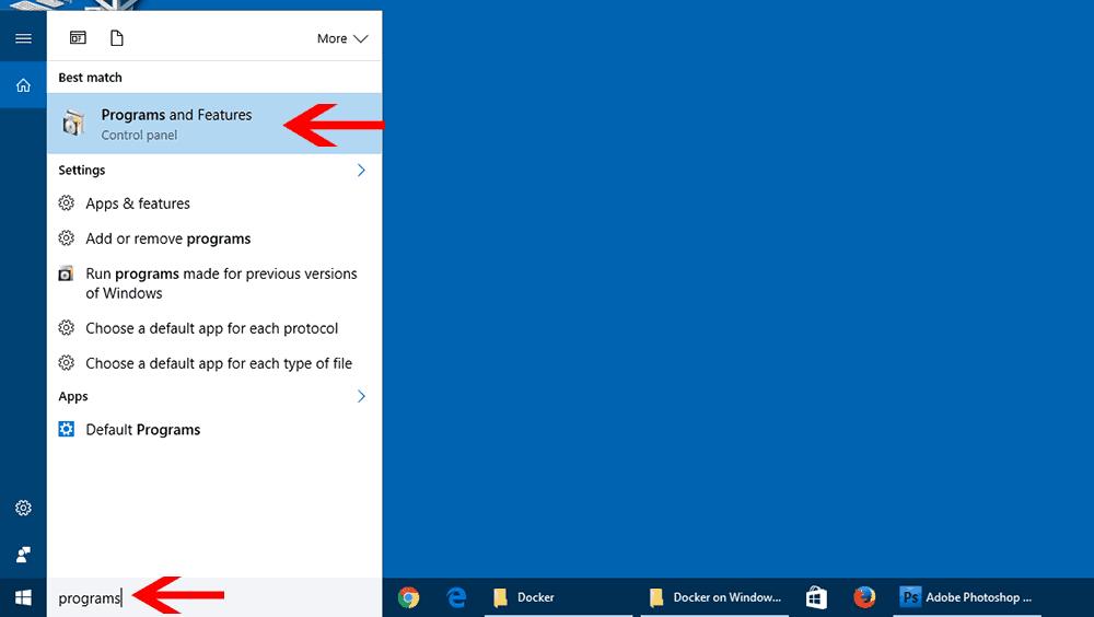 Guide: Install Docker on Windows 10 (64 bit Pro, Ent, and Edu Versions)