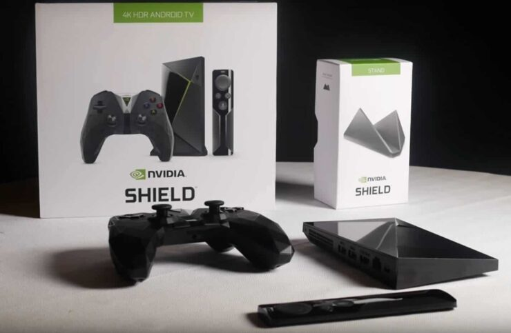 NVIDIA SHIELD TV 2 contents