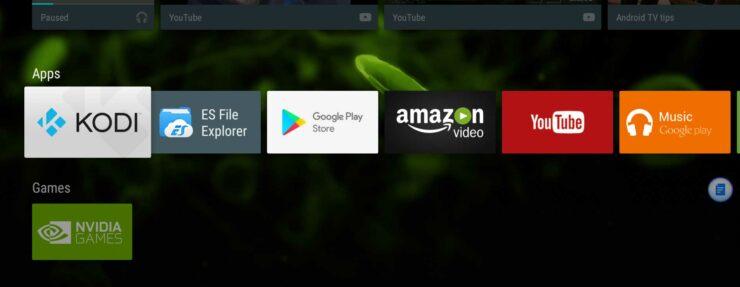 Missing Sideloaded App Icons On Nvidia Shield Tv