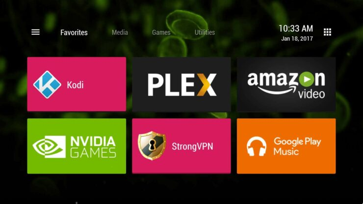 Launch Sideloaded Apps on Nvidia Shield TV with TV Launcher
