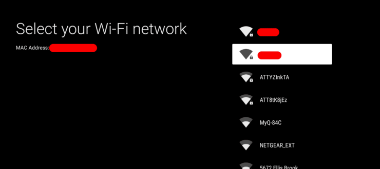 Connect Nvidia Shield to Wifi Network